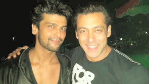 Salman Khan and Kushal Tandon