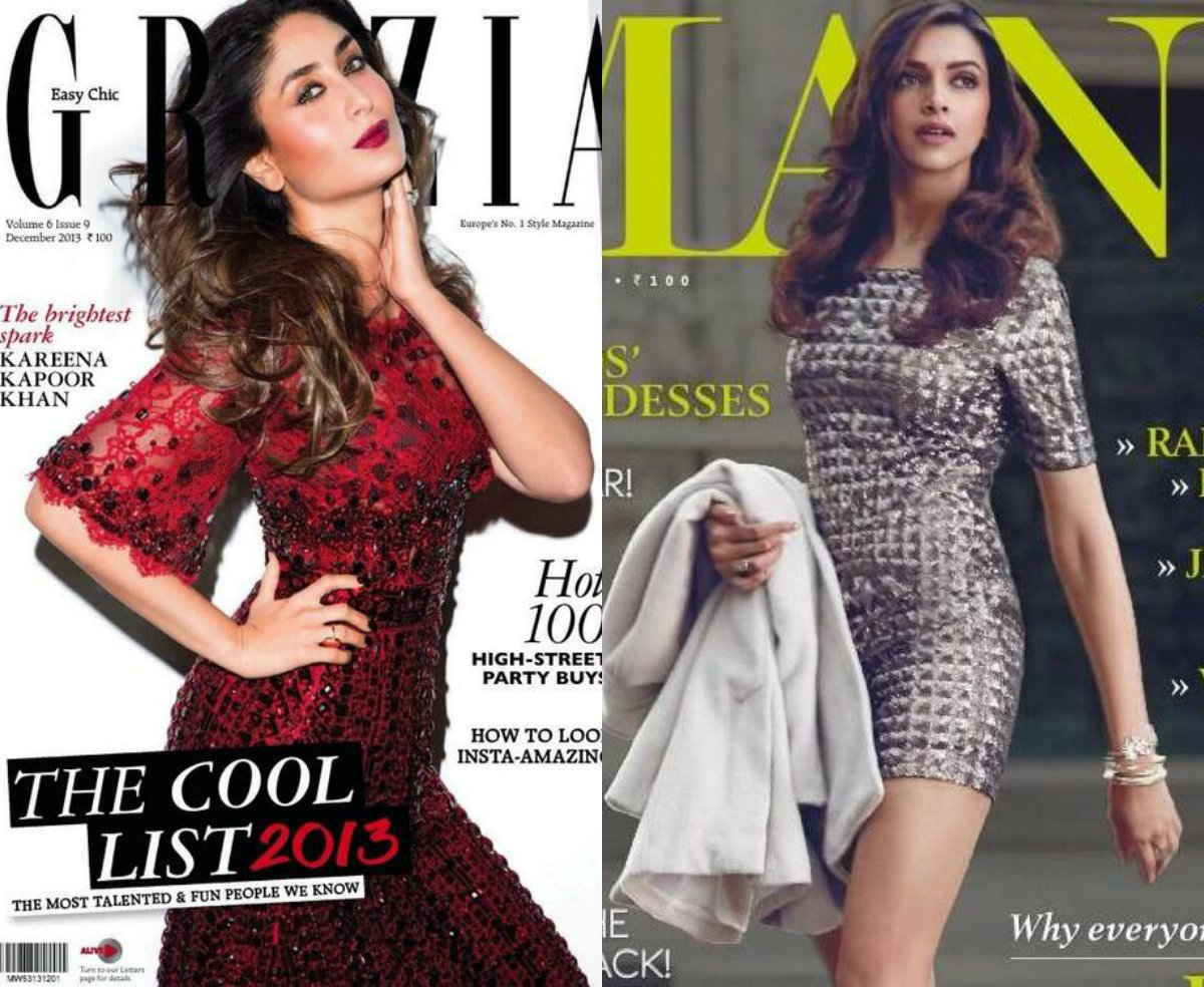 Winter is here but these ladies turned the heat up with their sexy  shoots for the covers of all our favourite glossies. Check out the  Bollywood divas who graced the covers of magazines this December
