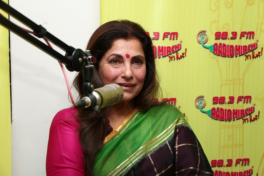 Dimple kapadia turns rj for mirchi for The fish radio