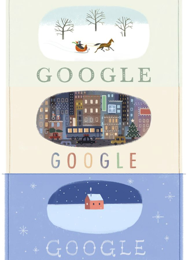 Google Holiday Doodle 2013