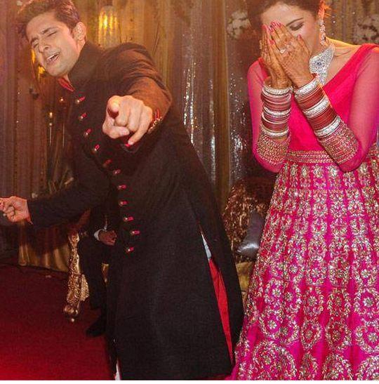 Sargun and ravi marriage pics of shaista