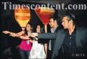 Kareena Kapoor, Kajol, Ajay Devgan and Salman Khan seen during The Times Food and Nightlife Guide Awards 2008-09, at ITC Grand Central in Parel, Mumbai on November 16, 2008.