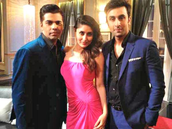 Kareena Kapoor, Ranbir Kapoor, Karan Johar