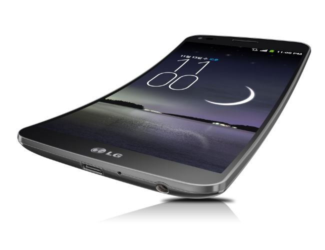 LG G FlexThis curved phone from LG comes with a curved display from top to bottom and claims to provide the IMAX experience.