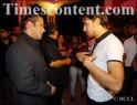 Salman Khan (left) and Imran Khan during