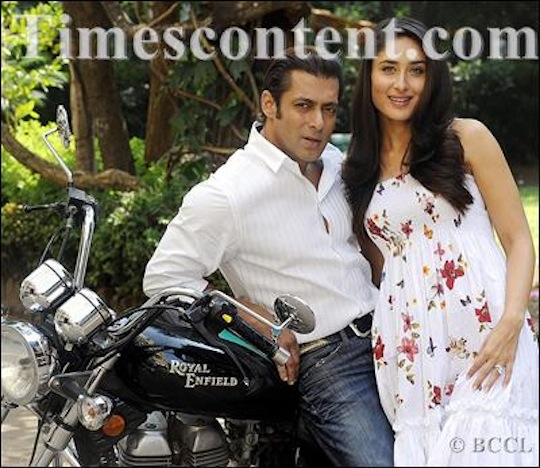Salman Khan and Kareena Kapoor pose for Bombay Times.