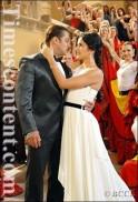 Salman Khan in a shot with Katrina Kaif during Yuvvraaj.