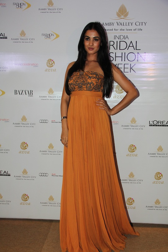 Sonal Chauhan seen at Shantanu and Nikhils show