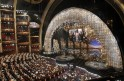 U.S. first lady Michelle Obama announces the winner of the best picture Oscar via video link at the 85th Academy Awards in Hollywood