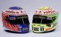 McLaren's New Helmets