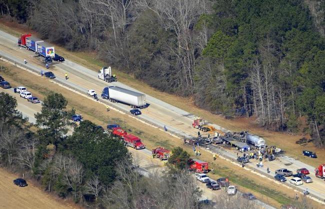 27-Car Pile-up In Georgia