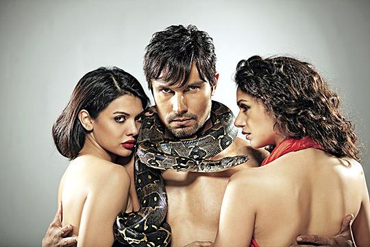 Sara Loren, Randeep Hooda and Aditi Rao Hydari in Murder 3