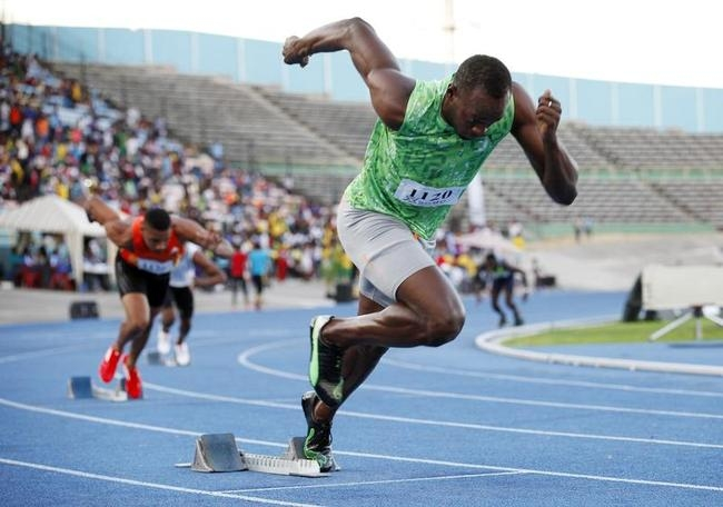 Usain Bolt Back in Action!