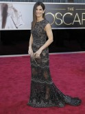 Presenter actress Sandra Bullock arrives at the 85th Academy Awards in Hollywood
