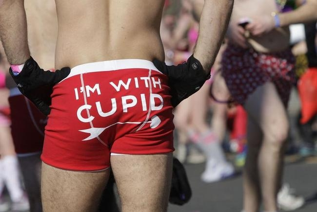 Wacky Cupid's Undie Run