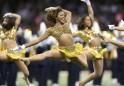 Cheerleaders Sizzle @ NFL Super Bowl