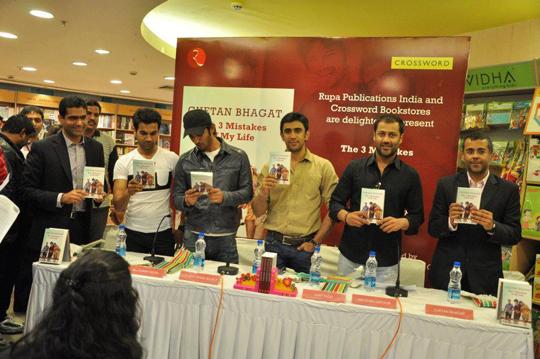 Raj Kumar Yadav, Sushant Singh Rajput, Amit Sadh, Abhishek Kapoor, Chetan Bhagat
