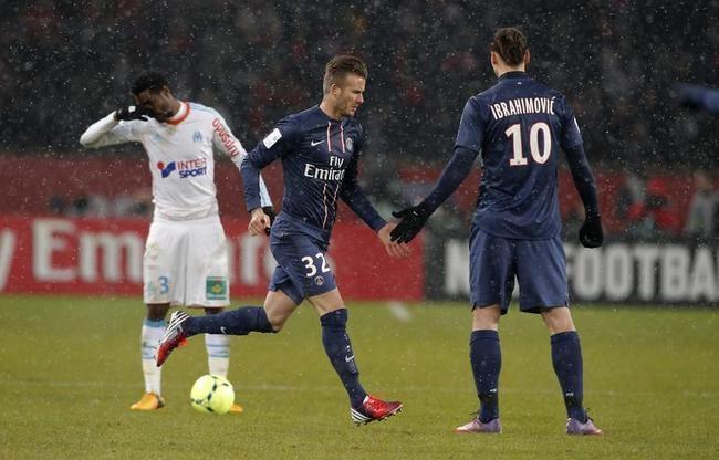 David Beckham Debuts for Paris Saint-Germain