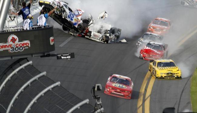 Crash at Daytona 500
