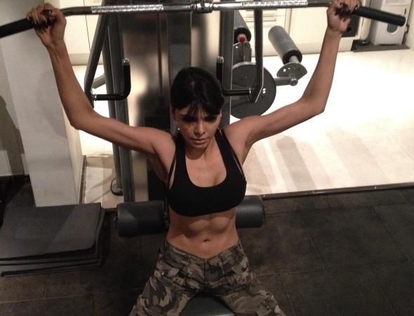 celebrity's workout