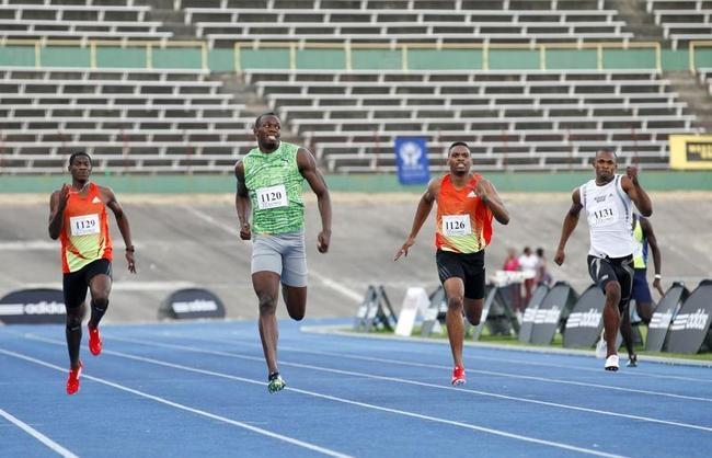 Usain Bolt Back in Action!