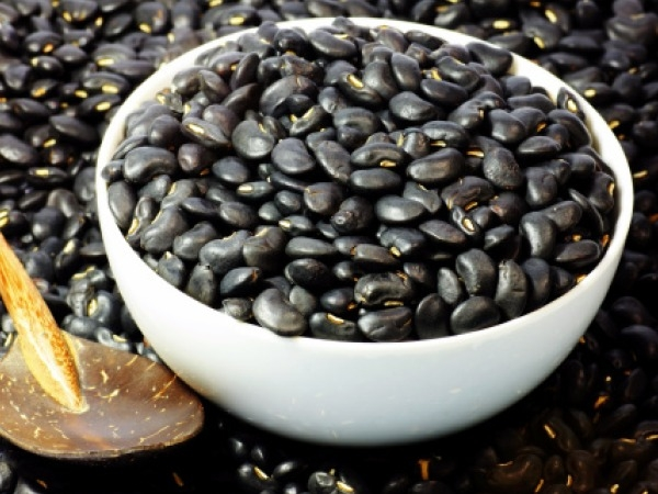 Healthy Colourful Food # 4: Black beans