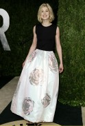 Actress Rosamund Pike at the 2013 Vanity Fair Oscars Party in West Hollywood