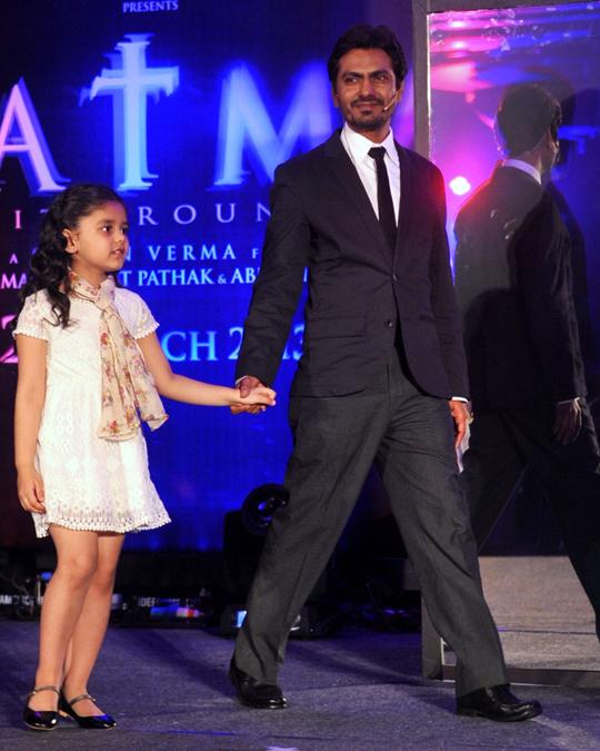 Nawazuddin Siddiqui and the child actress Doyel Dhawan