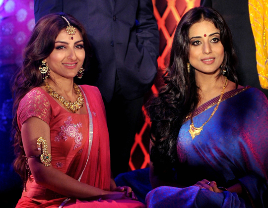 SOHA ALI KHAN AND MAHIE GILL