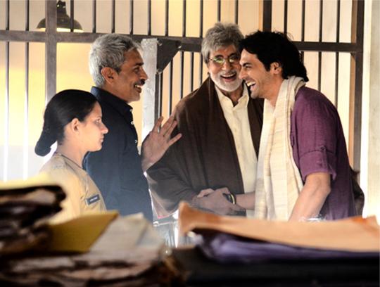 Prakash Jha, Amitabh Bachchan, Arjun Rampal