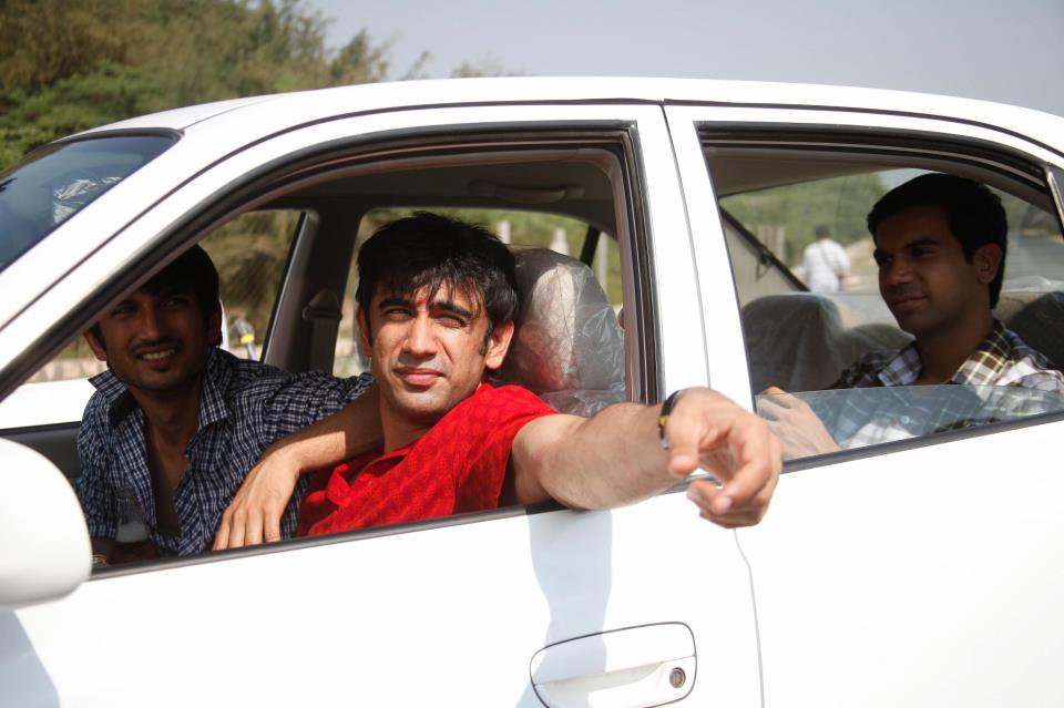 Sushant Singh Rajput, Amit Sadh, Raj Kumar Yadav