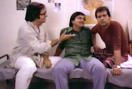 Farooq Shaikh, Rakesh Bedi and Ravi Baswani