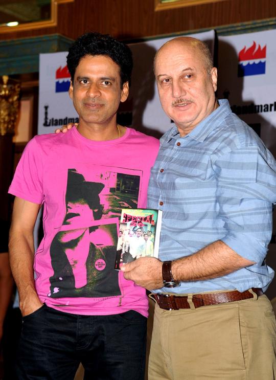 Manoj Bajpai, Anupam Kher