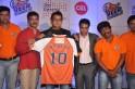 Mandar Phanse (Editor-Jai Maharashtra), Mahesh Manjrekar and Waahiid A. Khan with the players