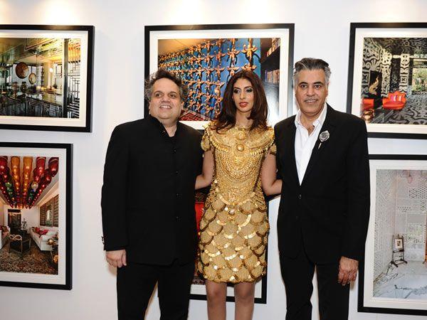 Sandeep Khosla, Shweta Nanda and Abu Jani