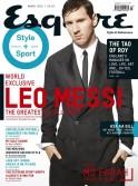 Argentine footballer Leo Messi