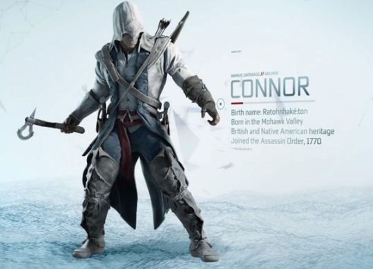 The storyline moves from the European and Middle East settings of the last few games to Colonial America, at the point in history where the country was at the cusp of the Revolution and Civil War. You play a half native american named Conner, a distant ancestor of the protagonist Desmond, which is the sci-fi aspect of Assassins Creed as a device called the Animus allows Desmond to explore his ancestors lives encoded in his DNA. That is the overarching plotline, the eternal struggle between the templars and Assassins.
