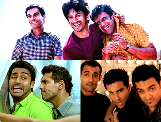 We can never get enough of Sholay's Jai-Veeru's crackling chemistry. With Kai Po Che all set to release soon, boy-bonding promises to get stronger in our films. Here's a lowdown on flicks focusing on inspirational screen-male-mates, from recent times...