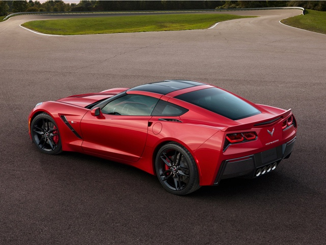 The 2014 Corvette Stingray is the most powerful standard model ever, with an estimated 455 PS of power and 610 Nm of torque.
