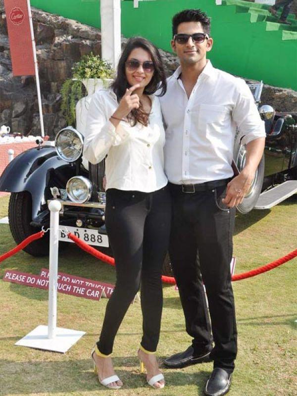 Vivan Bhatena and Nikhila Palat