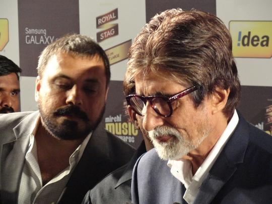 Amitabh Bachchan Image Credits: Sonal Bhadoria/Prathamesh Bandekar