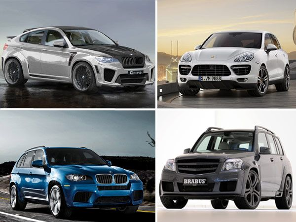 Fastest Luxury SUVs in the World