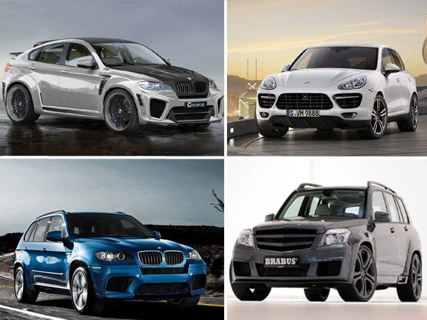 Fastest Luxury SUVs in the World