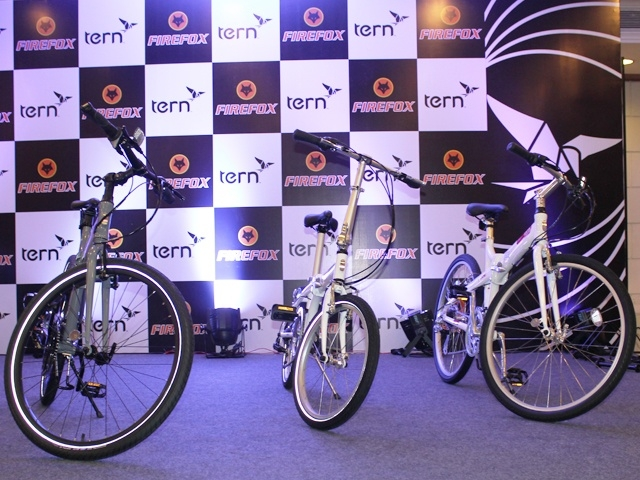 The Tern range of foldable bicycles launched in India by Firefox include the Link C7, Joe C21 and the Joe D24 priced at Rs 28,670, Rs 30,770 and Rs 38,640 respectively