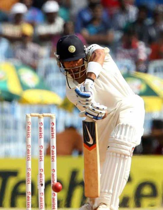 Virat Kohli plays a shot  Image: ICC, BCCI
