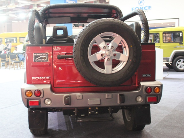 Force Gurkha 4X4 Soft Top