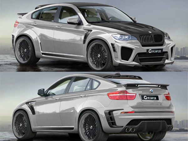 G-Power BMW X6 Typhoon RS  With an impressive 5.5 litre V10 engine, this drive accelerates from 0-100 km/h in 4.2 seconds.  Price: $887,000 (approx)  Image Courtesy: G-Power