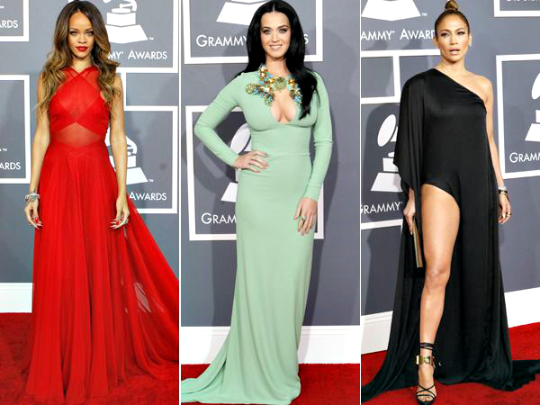 Let's admit it, we all love the red carpet. The stunning outfits and the dose of glamour is contagious. The Grammy Awards 2013 was no different. We spotted celebrities looking absolutely fabulous on the red carpet. Check out who wore what this year at the Grammy Awards.