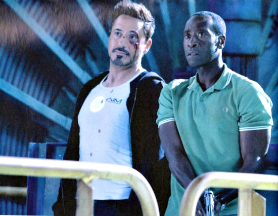 Robert Downey Jr. and Don Cheadle