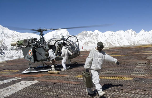 Forward Logistics Base, Siachen Glacier, Kashmir